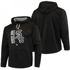White Sox Authentic Collection Team Icon Streak Fleece Black Pullover Hoodie