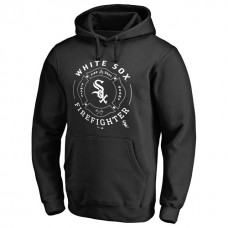 White Sox Firefighter Black Pullover Hoodie