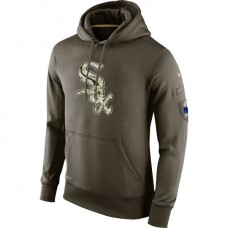 Chicago White Sox Salute To Service Olive Hoodie