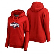 WOMEN - Washington Nationals 2017 Division Champions Assist Pullover Red Hoodie
