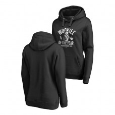 WOMEN - Chicago White Sox Fanatics Branded Black Star Wars Wookiee Of The Year Hoodie