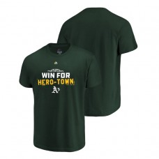 Oakland Athletics Authentic Collection Green Majestic Big & Tall T-Shirt