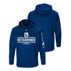 Los Angeles Dodgers Streak Fleece Royal Authentic Collection Hoodie