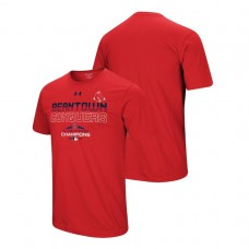 Boston Red Sox Team Conquer Red 2018 AL East Division Champions Under Armour T-Shirt