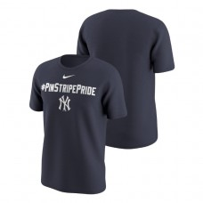 New York Yankees Playoff Participant Hunt Local Navy Nike T-Shirt