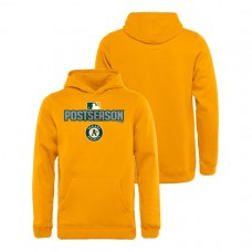 YOUTH Oakland Athletics Deck Gold Fanatics Branded Hoodie