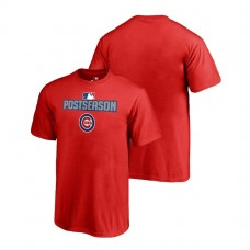 YOUTH Chicago Cubs Deck Red Fanatics Branded T-Shirt