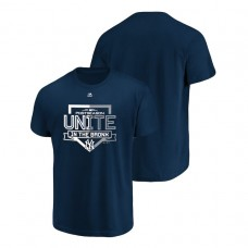 YOUTH New York Yankees Authentic Collection Navy Majestic T-Shirt
