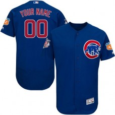 Custom Chicago Cubs Royal Blue Flexbase Authentic Collection Jersey