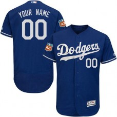 Custom Los Angeles Dodgers Royal Blue Flexbase Authentic Collection Jersey