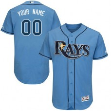 Custom Tampa Bay Rays Alternate Columbia Flexbase Authentic Collection Jersey