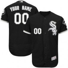 Custom Chicago White Sox Black Alternate Flexbase Authentic Collection Jersey