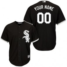 Youth Custom Chicago White Sox Replica Black Alternate Home Cool Base Jersey