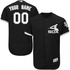 Custom Chicago White Sox Black Flexbase Authentic Collection Jersey