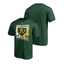 Oakland Athletics Base on Balls Green Cactus League T-Shirt 2019 Spring Training