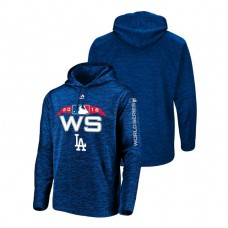 Los Angeles Dodgers Streak Fleece Royal Bound Authentic Collection Hoodie 2018 World Series