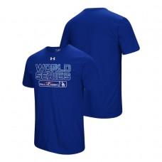 Los Angeles Dodgers Under Armour Royal Bound Big & Tall T-Shirt 2018 World Series