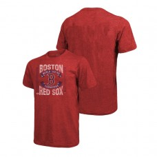 Boston Red Sox Divide And Conquer Red Majestic Threads T-Shirt 2018 World Series Champions