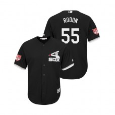 Chicago White Sox Black #55 Carlos Rodon Cool Base Jersey 2019 Spring Training